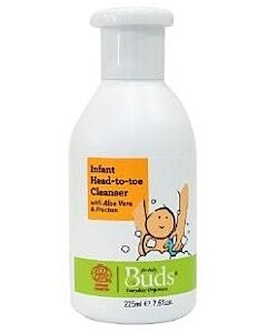 Buds Everyday Organics: Infant Head to Toe Cleanser 225ml - 15% OFF!