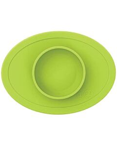 EZPZ Tiny Bowl   Self-Suctioning Silicone Bowl & Placemat (4+ Months)   Lime - 10% OFF!!