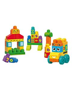 Mega Bloks: First Builders 123 Counting Bus - 9% OFF!!