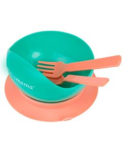 Clevamama: Easy Feed Suction Feeding Bowl and Cutlery - 37% OFF!!