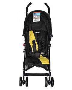 Halford: Fliplite Stroller - Black/Yellow - 25% OFF!!