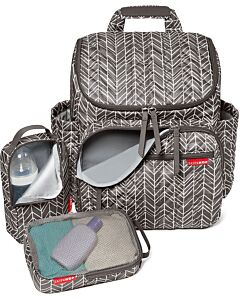 Skip Hop: Forma Diaper Backpack - Grey Feather - 23% OFF!!