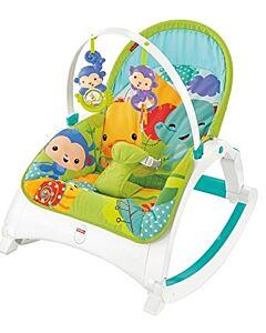 Fisher-Price: Rainforest Friends - Newborn-to-Toddler Portable Rocker (DMR86) - 23% OFF!!