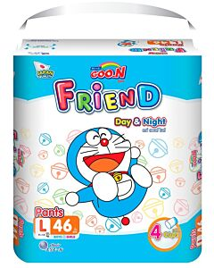 Goo.N Friend Pants - L46 (9-14kg) - 22% OFF!!