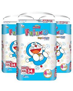 Goo.N Friend Pants - XXL34 (15-25kg) x 3 packs [22% OFF!!]