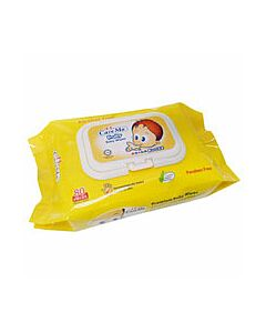Care Mo Fruity Baby Wipes With Lid 80's x 2