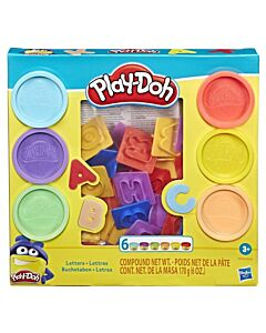 Play-Doh: Fundamentals Letters Stamper Tool Set (3 Years+) - 5% OFF!!