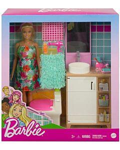 Barbie® Bathroom Furniture Playset (3Y+) - 10% OFF!!