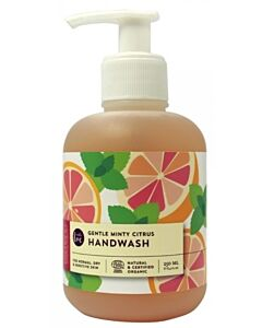 Buds Esmeria Soothing Organics: Anti-bac Gentle Minty Citrus Hand Wash 250ml
