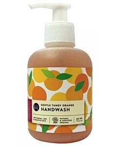 Buds Esmeria Soothing Organics: Anti-bac Gentle Tangy Orange Hand Wash 250ml