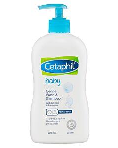 Cetaphil Gentle Wash & Shampoo 400ml - 28% OFF!!