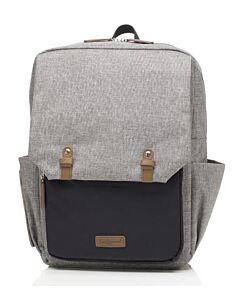 Babymel: George Backpack - Black/Grey - 15% OFF!!