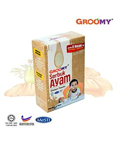 Groomy Chicken Powder 100g (For 8+ Months) - 31% OFF!!