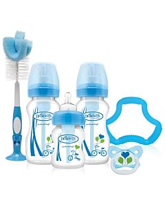 Dr. Brown's: Options™ Gift Set - Wide-Neck Bottle (Blue) - 30% OFF!!