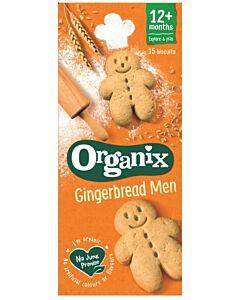 Organix Goodies Gingerbread Men Biscuits 135g (12+ Months)