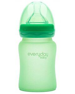 Everyday Baby MilkHero Glass Baby Bottle 150ml - Green - 15% OFF!