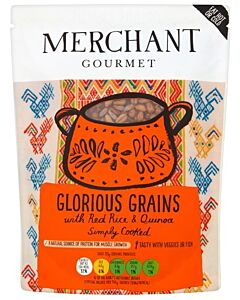 Merchant Gourmet: Glorious Grains with Red Rice Quinoa 250g