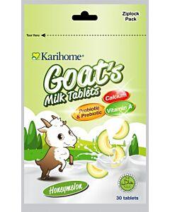 Karihome Goat's Milk Tablet (Probiotic & Prebiotic) 30 tablets | Honeymelon - 10% OFF!!