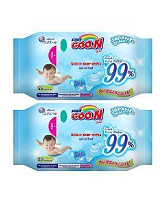Goo.N Baby Wipe (55 x 2) - 46% OFF!!