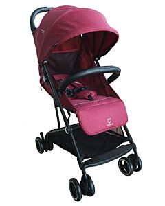 Crolla™ Air Flex (The First 1sec Fold Stroller) | Grace Red - 44% OFF!!