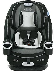 Graco 4ever Dlx Upgraded All-In-1 Convertible Car Seat Newborn Up To 54Kg [Fairmont] - 28% OFF!!