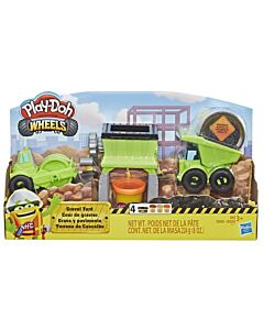 Play-Doh: Wheels - Gravel Yard Construction Toy (3 Years Old & Above) - 5% OFF!!