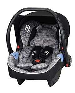 Koopers: Danza Infant Carrier - Grey Strip - 40% OFF!