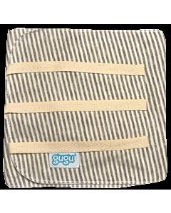 Gugu Premium Binder Strings – Grey Stripes