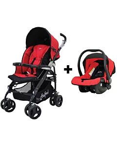 [PRE-ORDER] Halford: S8 Pramette Travel System with Elite Carrier (Red) - 28% OFF!!