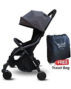 Hamilton Series S (Grey) S1 Magic Fold Stroller + FREE Travel bag!! - 39% OFF!!