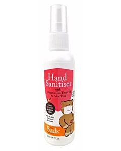 Buds Household Eco: Hand Sanitiser (with Organic Tea Tree Oil & Aloe Vera) 60ml - 15% OFF!!