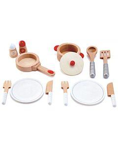 Hape Toys: Cook & Serve Set - 20% OFF!!