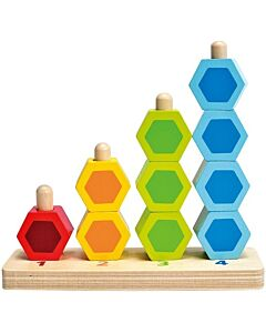 Hape Toys: Counting Stacker 10 Pieces - 12% OFF!!