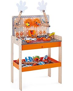 Hape Toys: Deluxe Scientific Workbench (STEM Toy For Kids Age 4 Years+) - 10% OFF!!