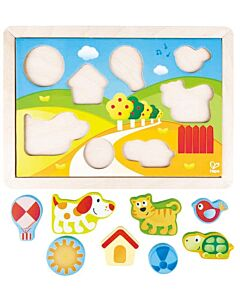 Hape Toys: Sunny Valley Puzzle - 12% OFF!!