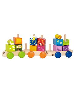 Hape Toys: Fantasia Blocks Train- 10% OFF!!