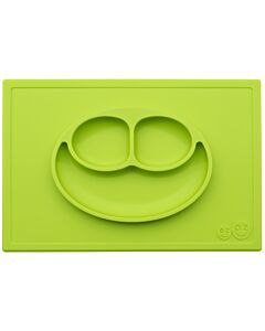EZPZ Happy Mat | Self-Suctioning Silicone Plate & Placemat (24+ Months) | Lime - 30% OFF!!