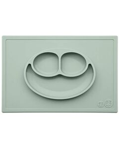 EZPZ Happy Mat | Self-Suctioning Silicone Plate & Placemat (24+ Months) | Sage - 30% OFF!!