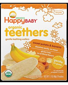 Happy Baby: Organic Teethers - Sweet Potato & Banana - 33% OFF!!