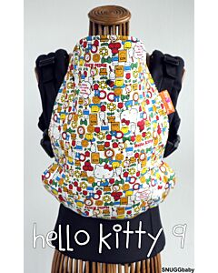 Snuggbaby - Stork Baby Carrier (Tokyo Series - HELLO KITTY 9) (With Upgrades: Cinchable Hood,PFA)