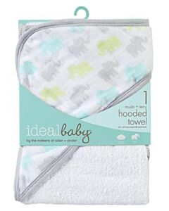 Aden+Anais Ideal Baby Hooded Towel - Dreamy (1 pack) - 10% OFF!!
