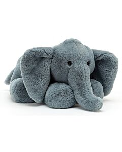Jellycat: Huggady Elephant - Large (32cm) [PREORDER - Limited units arriving on 18 May]