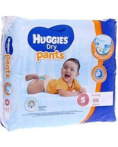 Huggies Dry Pants Diaper S66 + 4 FREE! (4-8kg) - 26% OFF!!