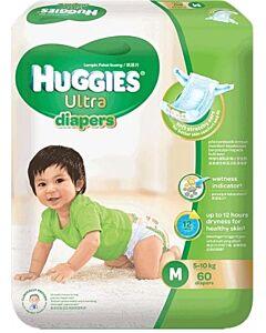 Huggies Ultra Diapers Super Jumbo (M60) - 28% OFF!