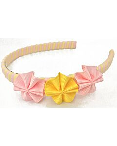 Bows & Blings: Mini Poppies Collection - Sweet Yellow Pink