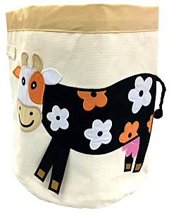 Bebe Living: Storage Bin - Cow (Big)