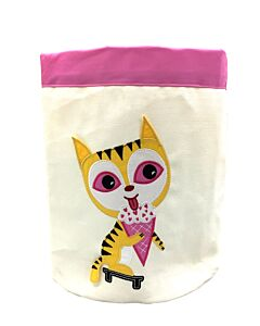 Bebe Living: Storage Bin - Cat (Small)
