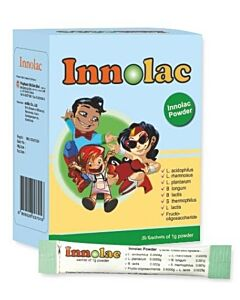 Innolac Probiotic Powder (30 Sachets of 1g Powder) - 36% OFF!