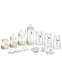 MAM Easy Start™ 15pcs Anti-Colic Baby Bottle Set - Ivory - 15% OFF!!