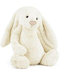 Jellycat: Bashful Cream Bunny - Huge (51cm) [PREORDER - Limited units arriving on 25 Sept]